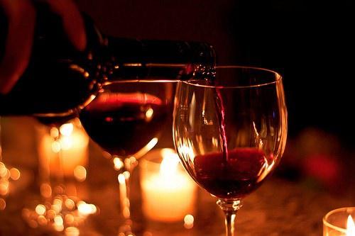 Красное вино влияет на потенцию