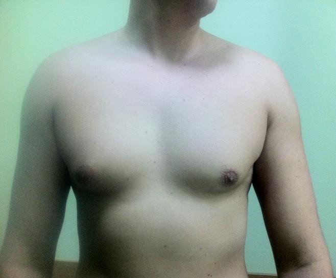 Красивая и объемная грудь