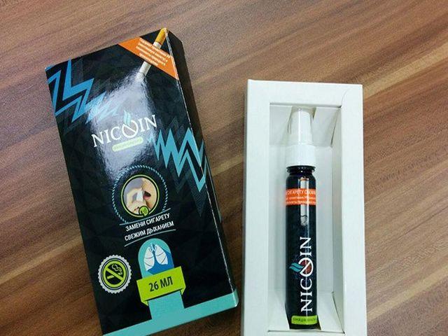 спрей от никотиновой зависимости