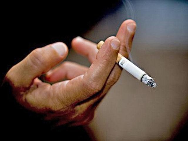 зависимость от табачного дыма