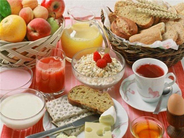 Вкусный полезный завтрак