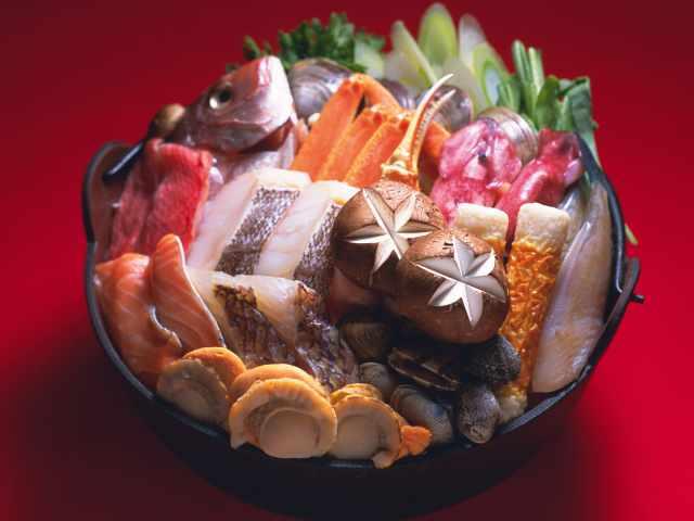 рыба да морепродукты