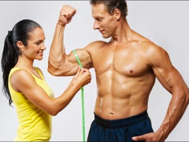 Соотношение роста и веса у Мужчин