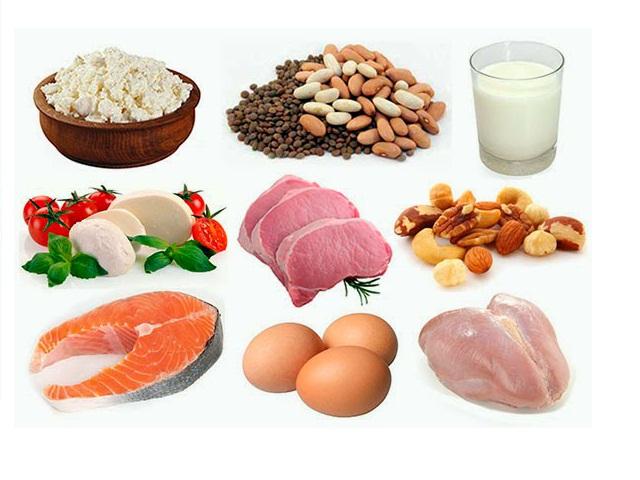 Белковая диета для сушки меню