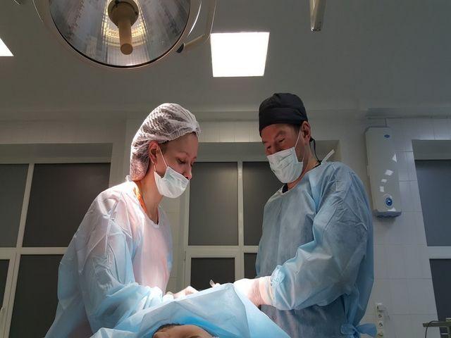 операция по исправлению дефекта