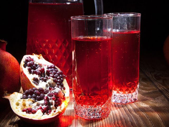 Чем полезен гранатовый сок для мужчин
