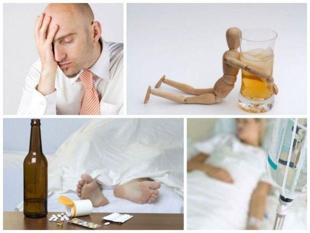 избавление от сильной интоксикации от алкоголя