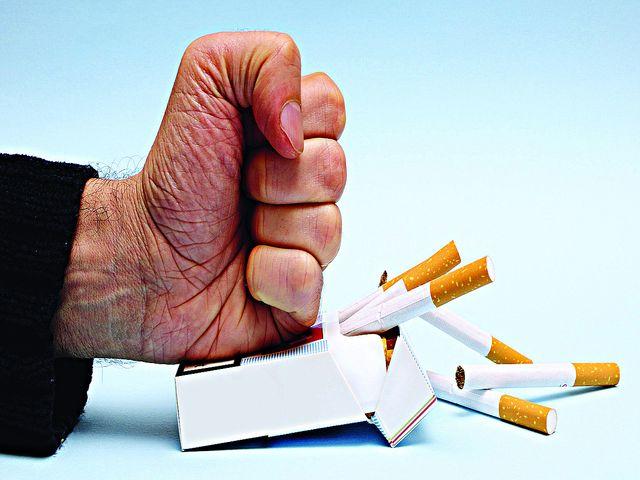 Бросил курить растет живот что делать