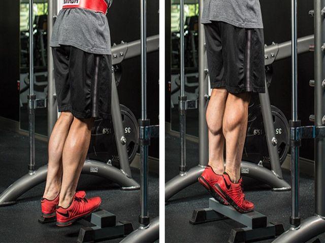 как прокачать мышцы голени
