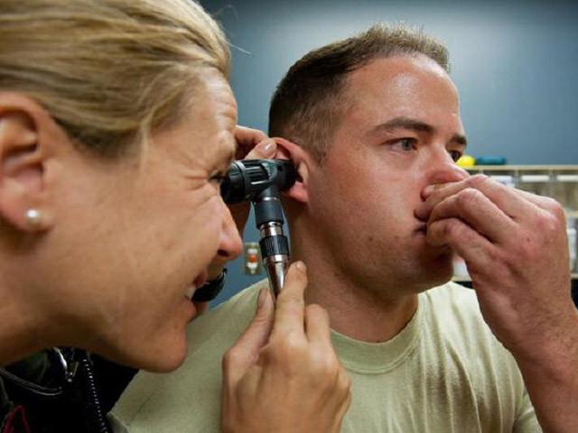 Тест уха