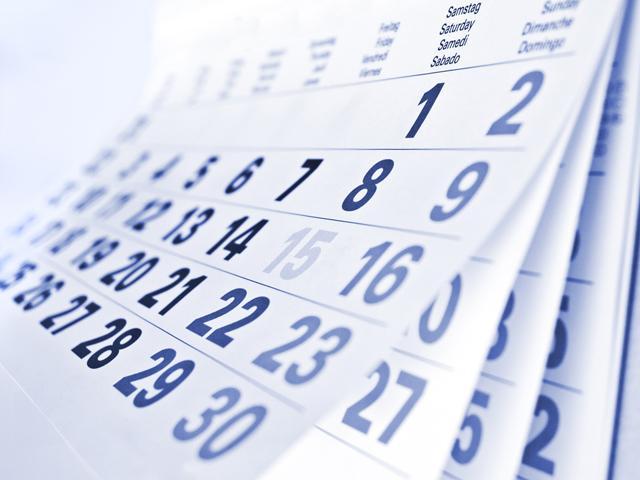 Листовой календарь
