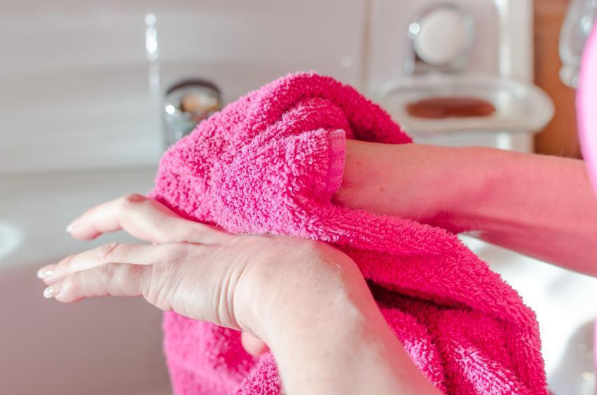 Зараженное полотенце