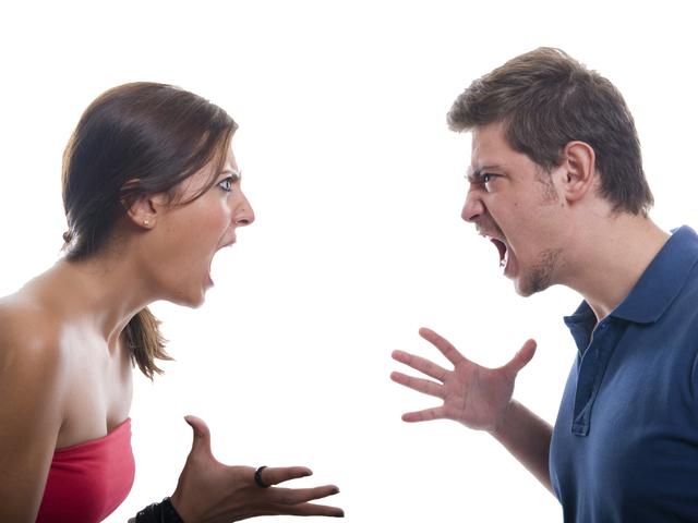 Крики друг на друга