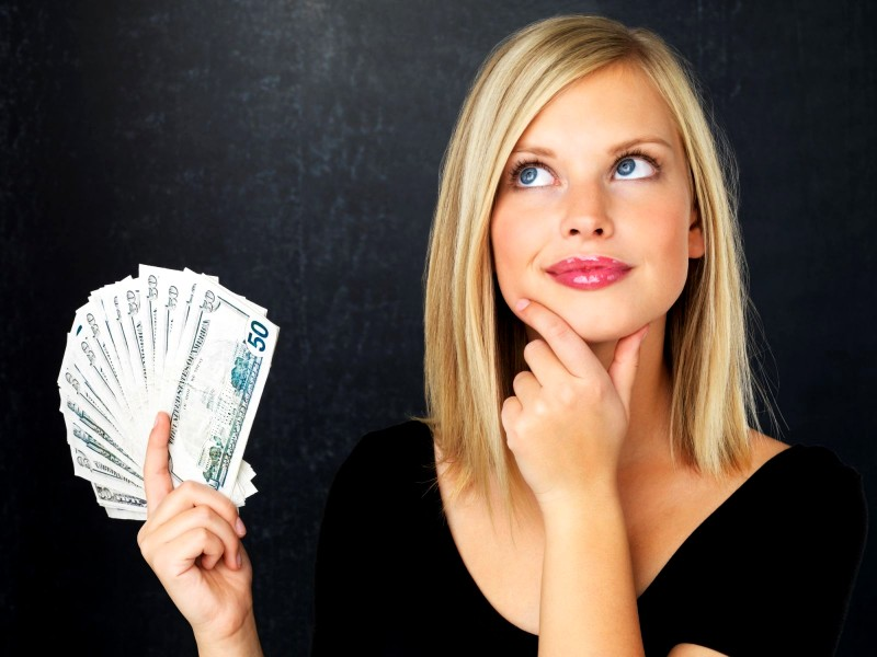 Деньги в валюте