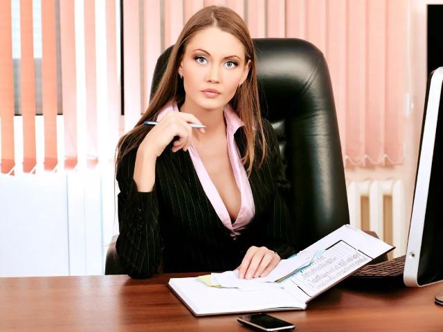 В кабинете офиса