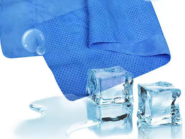 Лед и полотенце