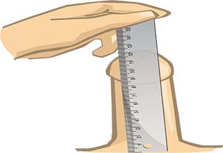 Как измерить свой хуй