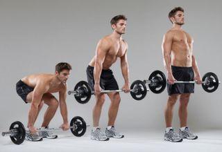 Какие мышцы работают при становой тяге