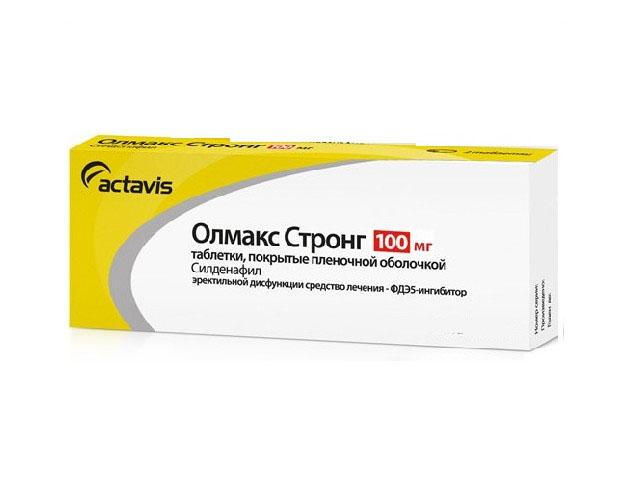 Результаты применения Олмакса Стронг при эректильной дисфункции