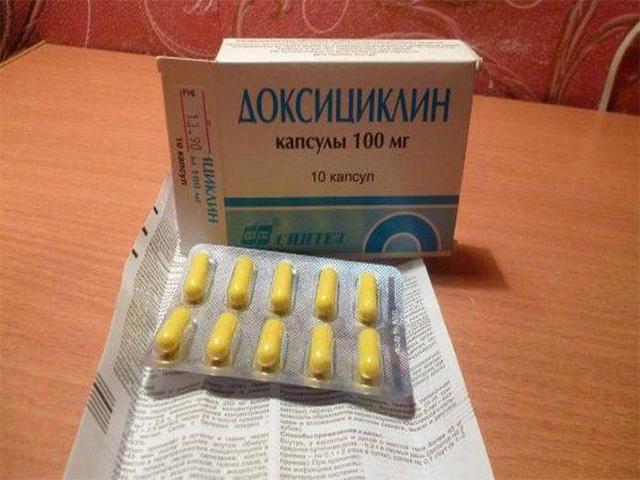 Доксициклин при мужском простатите