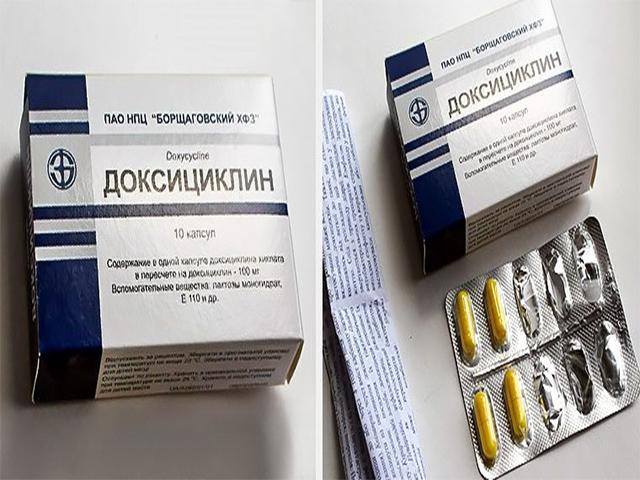 Антибиотики при простатите доксициклин можно ли заболеть простатитом половым путем