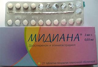Через сколько можно забеременеть после медианы. Противозачаточные таблетки Мидиана: инструкция и противопоказания