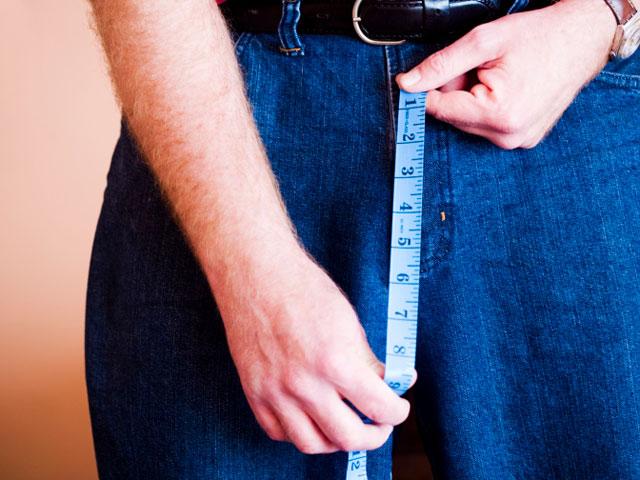 Измерение линейкой