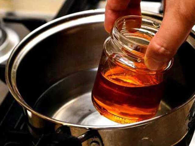 не нагревать мёд