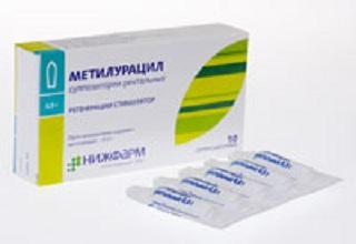 Метилурациловые свечи при простатите: инструкция по применению и отзывы о лечении