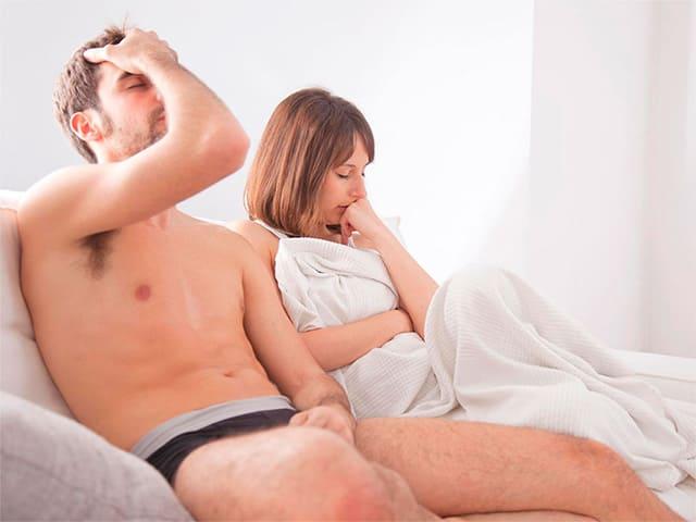 Почему мужчина быстро кончает — причины, лечение