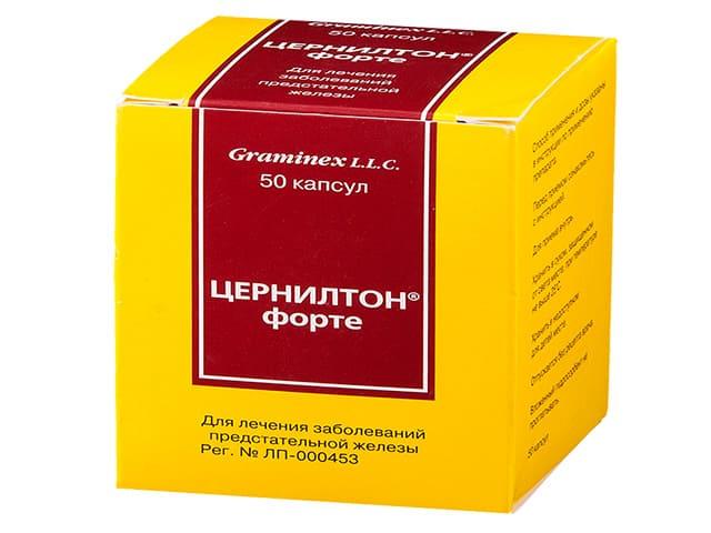 Препарат цернилтон от простатита простатит актуальность