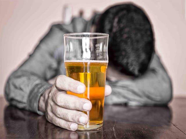 Употребление с алкоголем