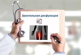 Лечение эректильной дисфункции в Москве, как лечить эректильную дисфункцию, препараты для лечения, какой врач лечит эректильную дисфункцию, курс комплексного лечения эректильной дисфункции в клинике
